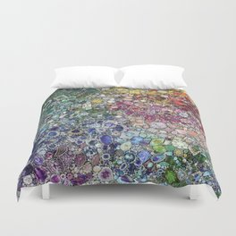Diamonds, Jewels, (Gems & The Hologram) Duvet Cover