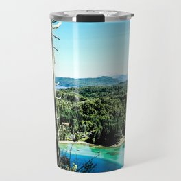 Greeen & Blue Travel Mug