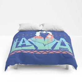 One Lava Comforters