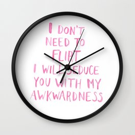 Awkward Wall Clock