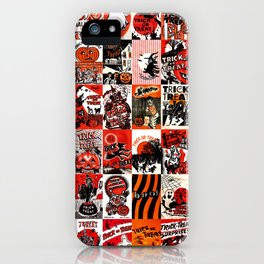Halloween : Trick Or Treat, Smell My Feet, Gimmie Something Good To Eat. iPhone Case