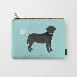 Black Lab funny fart dog breed gifts labrador retrievers Carry-All Pouch
