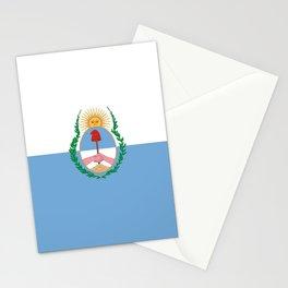 flag of mendoza Stationery Cards
