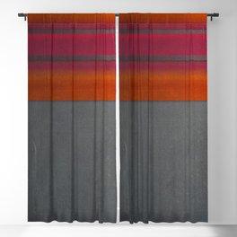 """""""Architecture, cement texture & colorful"""" Blackout Curtain"""
