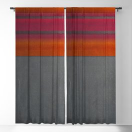 """Architecture, cement texture & colorful"" Blackout Curtain"