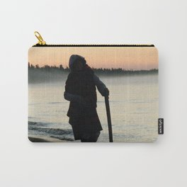 Sunrise Shadow by the lake Carry-All Pouch