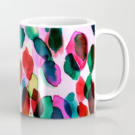 Rainbow Drizzle Jewel Coffee Mug