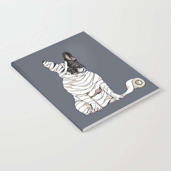 Mummy French Bulldog Notebook