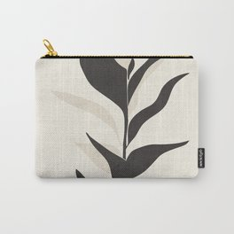 Abstract Minimal Plant Carry-All Pouch