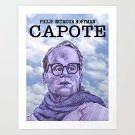 Capote Art Print