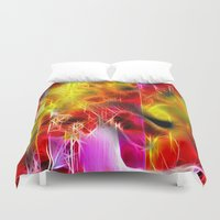holiday Duvet Covers featuring Holiday by BeachStudio