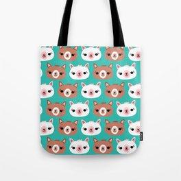Dotty Alpacas I Tote Bag