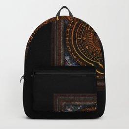 vintage clock_3 Backpack