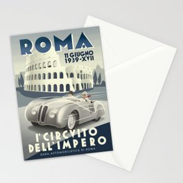 Roma Grand Prix Stationery Cards