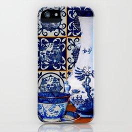 Blue Willow Stillife iPhone Case