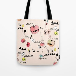 Poppies Print Tote Bag