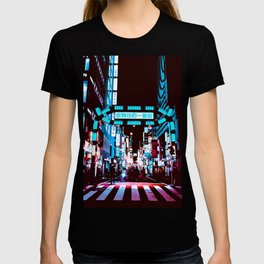 Japan - 'Blue kabukicho' T-shirt
