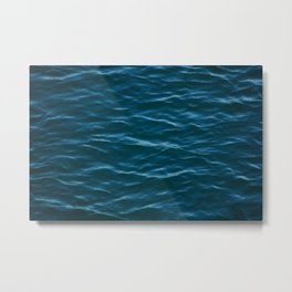 Waves of the sea - Pattern - Travel Photography Metal Print