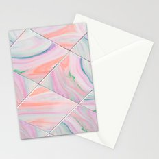 Rainbow Marble - for iphone Stationery Cards