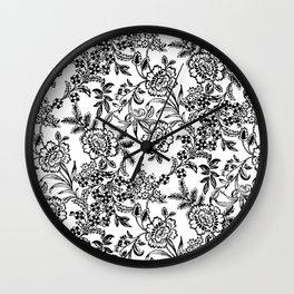 Full Moon Tea Reversed Wall Clock