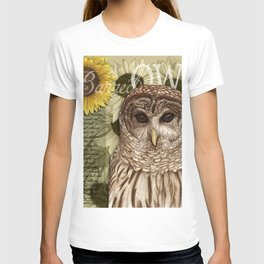 The Barred Owl Journal T-shirt