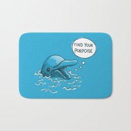 Find Your Porpoise Bath Mat