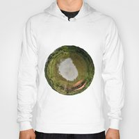 planet Hoodies featuring Planet by Goga