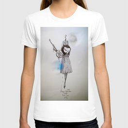 songs that were blue, songs that were grey T-shirt