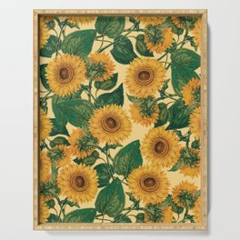 Helianthus Annuus Serving Tray