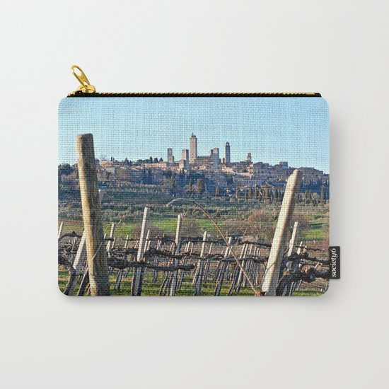 Tuscany's Town of Fine Towers Carry-All Pouch