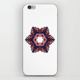 fleur de vacances iPhone Skin
