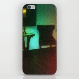 Damaged Disposable Camera Film - Waiting Room iPhone Skin