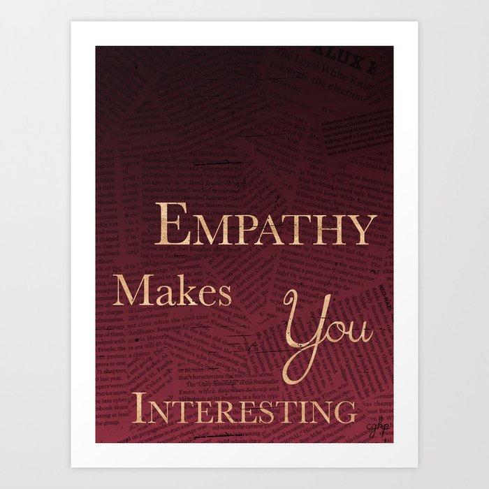 Empathy Art Print