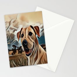 The Rhodesian Ridgeback Stationery Cards