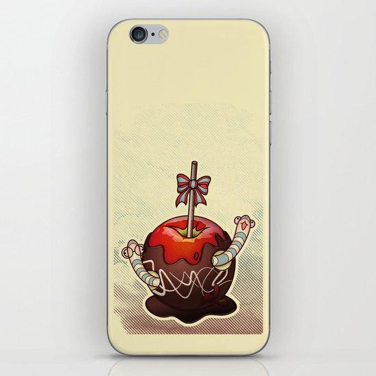 SWEET WORMS 2 - caramel apple iPhone Skin