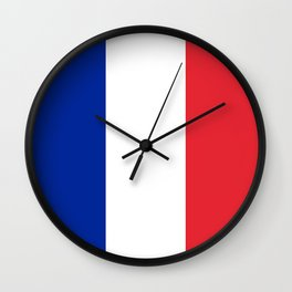 Flag of France, High quality image Wall Clock