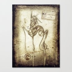 Bestiary 02 Canvas Print
