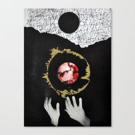 Dark Creation Canvas Print