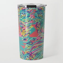 The jungle looked back with a vastness Travel Mug
