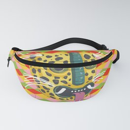 Mexican Leopard Fanny Pack