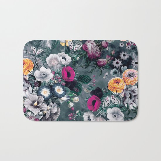Wild Flowers Bath Mat