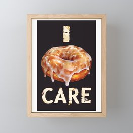Glazed Donut Framed Mini Art Print
