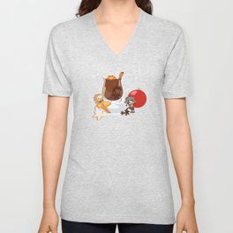 Mulled Wine Unisex V-Neck