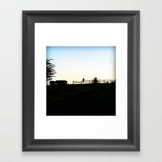 Silhouette 1 Framed Art Print