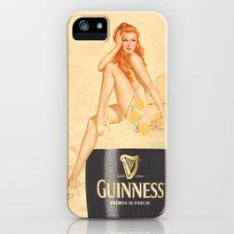 Guinness - Vintage Beer iPhone Case