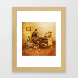 YOU ARE SLOTH! Framed Art Print