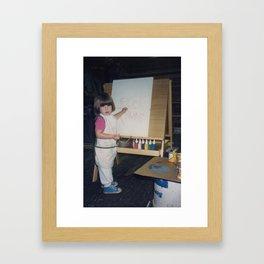 1986 Tribeca Marina Framed Art Print