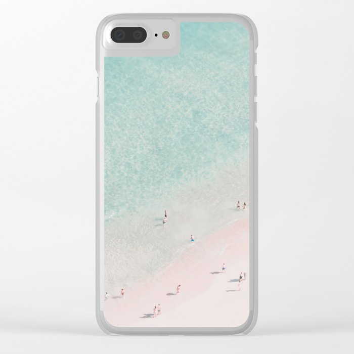 beach - summer of love III Clear iPhone Case