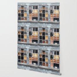Wood in the Windows Wallpaper