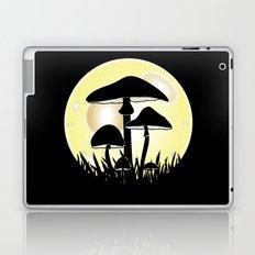 Mushrooms In Moonlight Laptop & iPad Skin